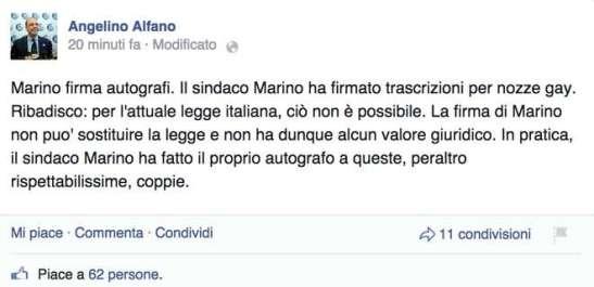 Alfano FB post