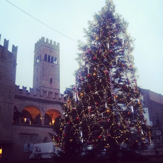 Bologna Christmas tree