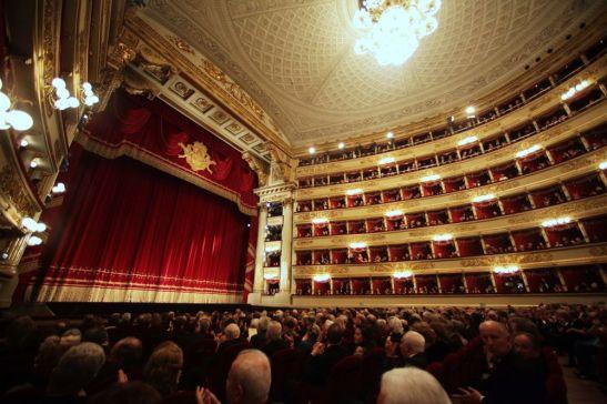 La Scala interior